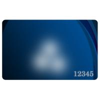 Пластикові картки з номером під ламінат