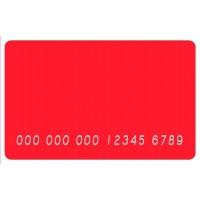 Пластикові картки з ембосуваннєм