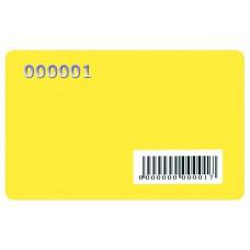 Пластикові картки з ембосуваннєм та штрих-кодом