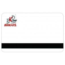 Пластикові картки з магнітною полосой