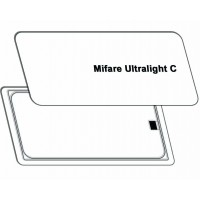 Безконтактна пластикова карта Mifare Ultralight C